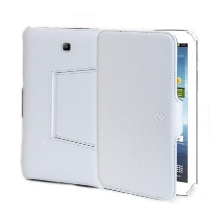 Celly Custodia in Ecopelle per Samsung Galaxy Tab 3 10,1  Bianca BOOKTABT11W - Celly - BOOKTABT11W