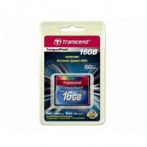 Transcend Memory Card Compact Flash 16 GB 400X TS16GCF400 - Transcend - TS16GCF400