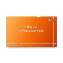 3M  GPF19.0W Filtro Privacy Oro per monitor LCD widescreen 19.0 computer da tavolo 81639 - 3M - 81639
