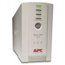 APC  Back-UPS Standby Offline 500VA 4AC outlets Torre Beige gruppo di continuità UPS BK500EI - APC - BK500EI