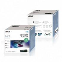 ASUS  BW-16D1HT Interno Blu-Ray RW Nero lettore di disco ottico 90DD0200-B30000 - ASUS - 90DD0200-B30000