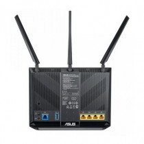 ASUS Router Wireless DSL-AC68U Dual-band 2.4 GHz, 5 GHz Gigabit Ethernet 3G Nero 90IG00V1-BM3G00 - ASUS - 90IG00V1-BM3G00