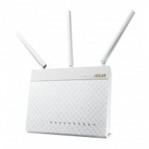 ASUS RT-AC66U Wi-Fi Collegamento ethernet LAN Dual-band White - ASUS - 90-IGY7002M03-3PA0-