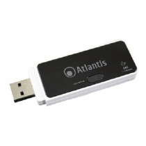 Atlantis Land  Wireless N 300Mbps USB WLAN 300Mbits scheda di rete e adattatore A02-UP-W300N - Atlantis Land - A02-UP-W300N