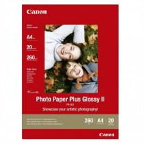 Canon  PP-201 A4 Lucida Bianco carta fotografica 2311B019 - Canon - 2311B019