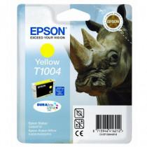 Epson Cartuccia Rinoceronte T1004 Gialla C13T10044010 - Epson - C13T10044010