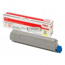 OKI Cartuccia Toner per C8600C8800 Giallo - OKI - 43487709