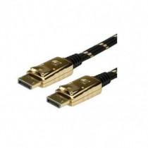 Nilox Cavo DisplayPort 3 Mt Maschio / Maschio Placcatura Oro Colore Nero, Oro RO11.04.5646 - Nilox - RO11.04.5646