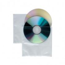 SEI Rota Confezione 25 Buste x 2 CD / DVD Soft Pro Trasparenti 657533 - SEI Rota - 657533