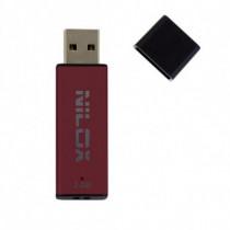 Nilox Chiavetta USB 2.0 Pendrive 2 GB Rossa, Nera 05NX0104AC002 - Nilox - 05NX0104AC002