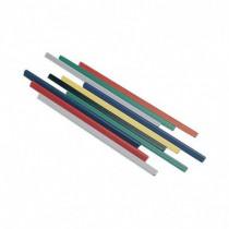 Metodo Confezione 60 Dorsetti Plastici x Rilegatura in PVC 8 mm Blu 29,7 Cm X800805 - Metodo - X800805