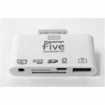 Kentron Connection Kit multi-funzione per I-Pad (5-in-1) KEFIVE - Kentron - KEFIVE