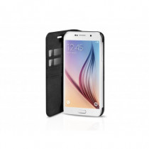 SBS Custodia a libro in PU Book Wallet per Samsung Galaxy S6 Nero TEBOOKWALSAS6K - SBS - TEBOOKWALSAS6K