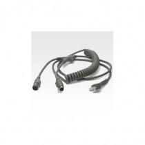 Datalogic  KBW, 6MDIN, P&S, EP-POT, Coil, 12 3.6m cavo per tastiera, video e mouse 8-0741-17 - Datalogic - 8-0741-17