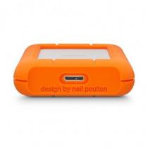 LaCie Hard Disk esterno Mini Rugged 500 GB USB 3.0 (3.1 Gen 1) Type Micro-B Arancione, Argento LAC301556 - LaCie - LAC301556