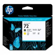 HP  Testina di stampa giallo e nero opaco DesignJet 72 C9384A - HP - C9384A