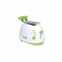 Innofit Tostapane con Timer 700 W Colore Bianco, Verde INN701 - Innofit - INN701
