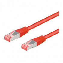 Intellinet Cavo Patch Cat 6A 1 Mt SFTP Rosso ICOC SF6A-010-RE - Intellinet - ICOC SF6A-010-RE