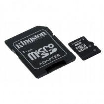 Kingston Technology Memory Card Flash 8 GB Micro SDHC con Adattatore a SD SDC4/8GB - Kingston Technology - SDC4/8GB