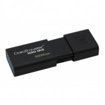 Kingston Technology  DataTraveler 100 G3 128GB 128GB USB 3.0 3.1 Gen 1 Tipo-A Nero unità flash USB DT100G3128GB - Kingston Technology - DT100G3/128GB
