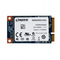 Kingston Technology Hard Disk SSD Now mS200 120 GB Mini SATA SMS200S3120G - Kingston Technology - SMS200S3/120G