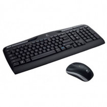 Logitech  MK330 RF Wireless QZERTY Italiano Nero tastiera 920-003971 - Logitech - 920-003971