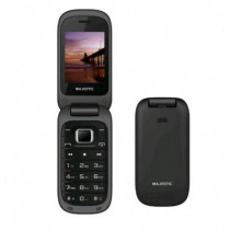 New Majestic Cellulare TLF Lucky 48 Flip UMTS 2,4  Italia Nero 300048-BK - New Majestic - 300048-BK