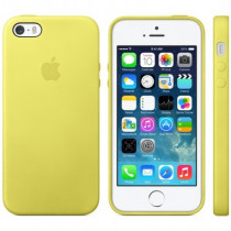 Apple Custodia in Pelle Gialla per iPhone 5s MF043ZM/A - Apple - MF043ZM/A