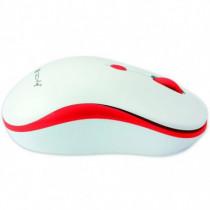 Techly Mouse Wireless 2,4 GHz con Micro Ricevitore USB Bianco Rosso IM 1600-WT-WRW - Techly - IM 1600-WT-WRW