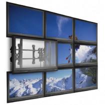 NEC  PDVW MFS 46 55 L 55 Nero supporto da parete per tv a schermo piatto 100012730 - NEC - 100012730