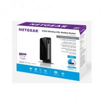 Netgear  DGN2200 Fast Ethernet Nero router wireless DGN2200-100PES - Netgear - DGN2200-100PES