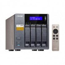 QNAP Nas Tower TS-453A Collegamento Ethernet LAN Nero TS-453A-4G - QNAP - TS-453A-4G