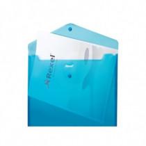 Rexel  Busta a soffietto con bottone A4 JOY blu 2104206 - Rexel - 2104206