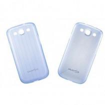 Samsung Custodia EFC-1G6S Blu Trasparente per Galaxy S III EFC-1G6SBECSTD - Samsung - EFC-1G6SBECSTD