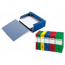 SEI Rota Scatola Progetto a Cartella Spazio PVC Blu 67891207S - SEI Rota - 67891207S