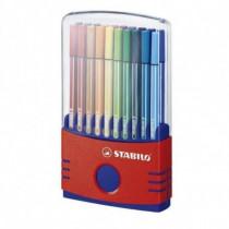 Stabilo Marcatore Inchiostro a base di acqua Pen 68 Multicolore Tratto 1 mm 24 h  6820-03-10 - Stabilo - 6820-03-10