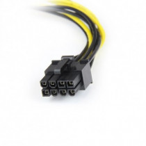 StarTech.com  Adattatore Cavo di Alimentazione LP4 a Scheda Video PCI Express 8 pin da 15 Cm LP4PCIEX8ADP - StarTech.com - LP4PCIEX8ADP