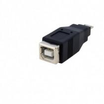 StarTech.com Adattatore Micro USB a USB tipo B Maschio / Femmina 1,2 Cm Nero UUSBUSBBMF - StarTech.com - UUSBUSBBMF