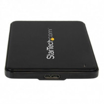 StarTech.com Box Esterno Enclosure Slim per Hard Disk USB 3.0 a SATA 2,5  SSD , HDD Nero S2510BPU337 - StarTech.com - S2510BPU337