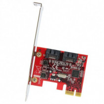 StarTech.com  Scheda controller PCI Express SATA con 2 porte SATA 6 Gbps PEXSAT32 - StarTech.com - PEXSAT32