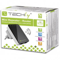 Techly  Ripetitore Router Wireless 300N da Muro Repeater2 I-WL-REPEATER2 - Techly - I-WL-REPEATER2