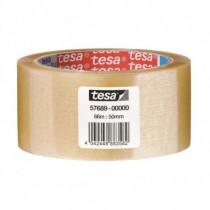 TESA  CF6NASTRO SILENZIOSO TRASP 50MMX66M 66m Trasparente 6pezzoi cancelleria e nastro adesivo per ufficio 57689-00000-00 - TESA - 57689-00000-00