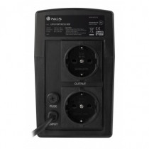 NGS UPS Fortress 900 Nero 450 W 750 VA con 2 Prese AC - NGS - FORTRESS900