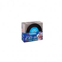 Verbatim Confezione CD-R 700 MB 48x spd Slim Case 43347 - Verbatim - 43347